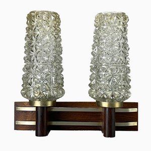 Mid-Century Rosewood Sconce
