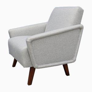 Dänischer Mid-Century Sessel mit Bezug aus Tweed, 1960er