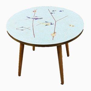 Tavolino con mosaico, anni '50