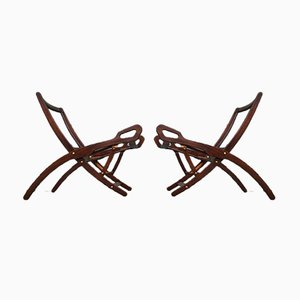 Model Ninfea Club Chairs by Gio Ponti for Fratelli Reguitti, 1950s, Set of 2