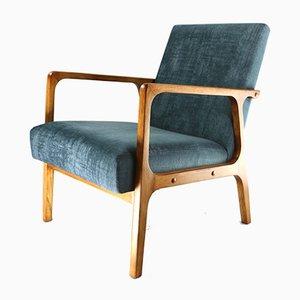 Velvet Armchair, 1970s