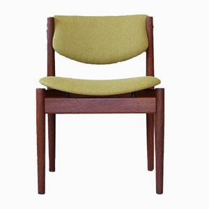 Mid-Century Danish Teak Side Chair by Finn Juhl for France & Søn / France & Daverkosen