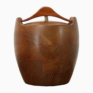Mid-Century Danish Teak Tobacco Box from ESA