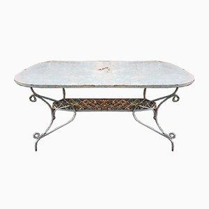 Tisch aus Schmiedeeisen, 1950er