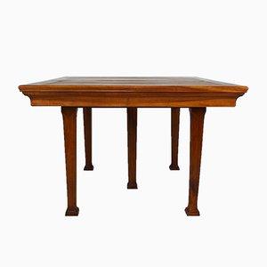 Antiker Esstisch aus Nussholz von Georges Ernest Nowak