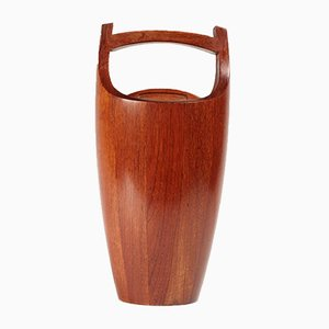 Danish Teak Ice Bucket by Jens Quistgaard for Dansk Design, 1950s
