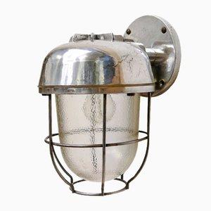 Applique a forma di lanterna vintage, anni '50
