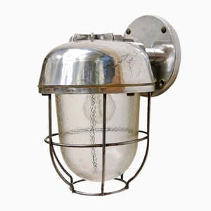 Vintage Lantern Sconce, 1950s