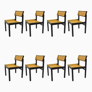 Model 3100 Side Chairs by Willy Guhl for Dietiker, 1950s, Set of 8