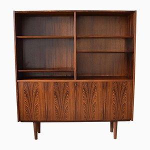 Bibliothèque en Palissandre par Carlo Jensen pour Poul Hundevad, années 60
