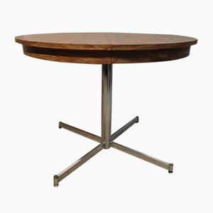 Mesa de comedor de metal y formica, años 60