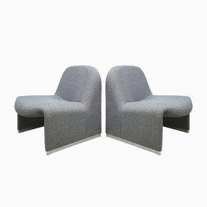 Vintage Sessel von Giancarlo Piretti für Castelli, 1970er