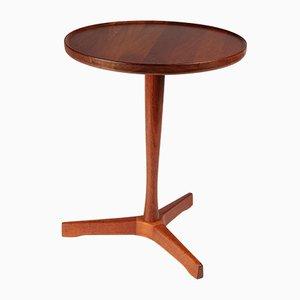 Table d'Appoint Mid-Century en Teck par Hans Andersen pour Artek, Danemark, années 60