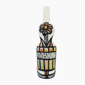 Cognac Flasche von Roger Capron, 1950er