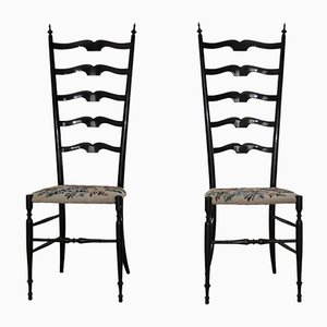 Italian Model Chiavari Dining Chairs, 1960s, Set of 2
