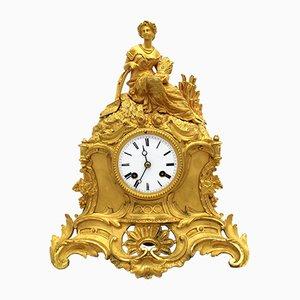 Reloj de péndulo Napoleón III antiguo