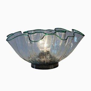Deckenlampe & Tischlampe von Adalberto Lago für Vistosi, 1968