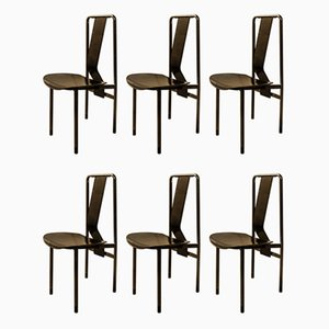 Dining Chair by Achille Castiglioni for Zanotta, 1979, Set of 6