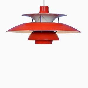 Lámpara colgante modelo PH 5 de Poul Henningsen para Louis Poulsen, años 70