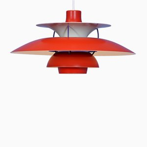 Model PH 5 Pendant Lamp by Poul Henningsen for Louis Poulsen, 1970s
