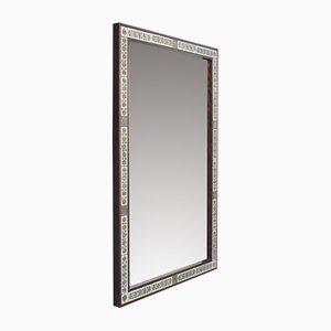Espejo de palisandro de Severin Hansen para Haslev Møbelsnedkeri, años 60