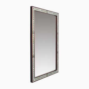 Rosewood Mirror by Severin Hansen for Haslev Møbelsnedkeri, 1960s