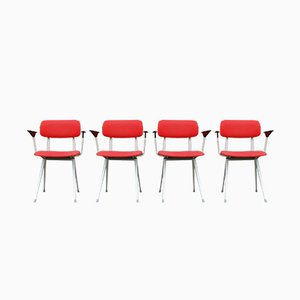 Desk Chairs by Friso Kramer for Ahrend De Cirkel, 1970s, Set of 4