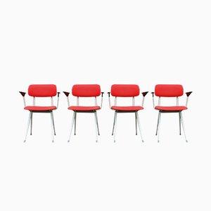 Schreibtischstühle von Friso Kramer für Ahrend De Cirkel, 1970er, 4er Set