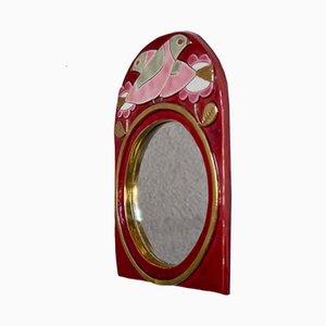 Specchio di François Lembo per Vallauris, anni '60
