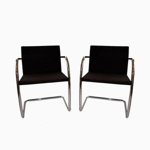 Vintage Desk Chairs by Ludwig Mies van der Rohe for Knoll Inc. / Knoll International, Set of 2