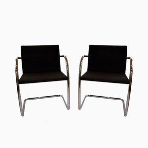 Vintage Schreibtischstühle von Ludwig Mies van der Rohe für Knoll Inc. / Knoll International, 2er Set