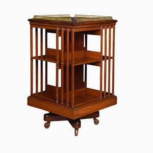 Antique Mahogany Revolving Bookcase from Maple & Co.