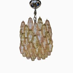Lámpara de araña Poliedri, años 80