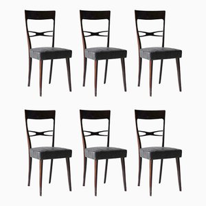 Dining Chairs by Melchiorre Bega, 1950s, Set of 6