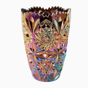 Vase Vintage en Verre, France, années 60