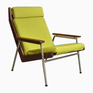 Rosewood Lotus Armchair by Rob Parry for De Ster Gelderland, 1960s