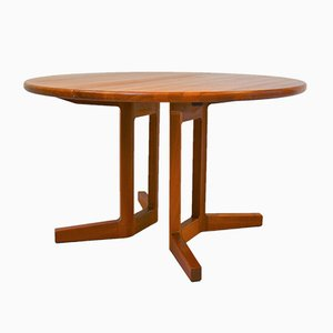 Teak Extendable Dining Table from Dyrlund, 1960s