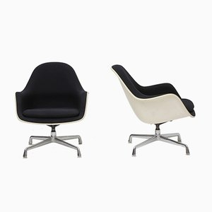 Mid-Century Swivel EC175-8 Armchairs by Charles & Ray Eames, Set of 2