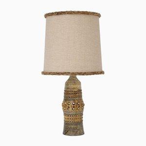 Mid-Century Tischlampe aus Keramik von Georges Pelletier