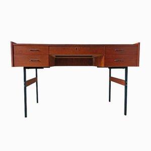 Schreibtisch aus Teak & Metall, 1960er