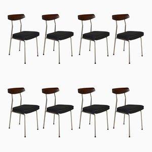 Chaises de Salle à Manger Modèle S230 par John & Sylvia Reid pour Stag, années 60, Set de 8