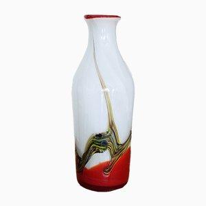 Italienische Mid-Century Vase aus Muranoglas, 1970er