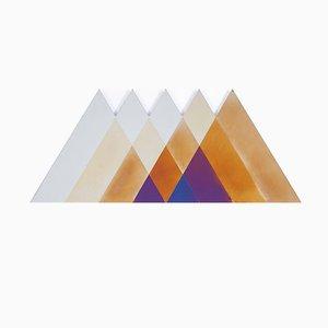 Großer dreieckiger Transience Spiegel von Lex Pott & David Derksen für Transnatural Label