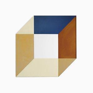 Grand Miroir Transience Cubique par Lex Pott & David Derksen pour Transnatural Label
