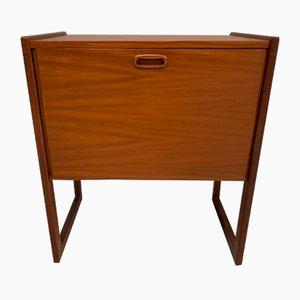 Vintage Plattenschrank, 1960er
