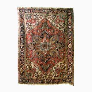 Antiker orientalischer Teppich mit geometrischem Muster