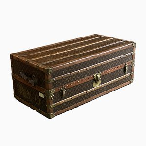 Vintage Steamer Trunk by Louis Vuitton, 1920s