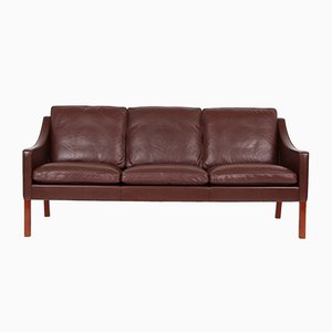 Sofás y butaca de Børge Mogensen para Fredericia Furniture, años 80. Juego de 3