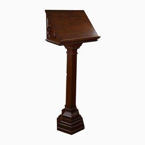 Antikes viktorianisches Rednerpult aus Eiche