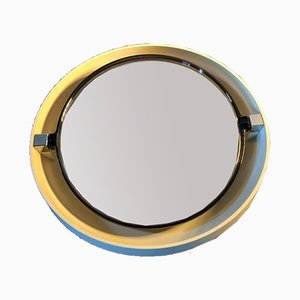 Espejo retroiluminado redondo de Allibert, años 70